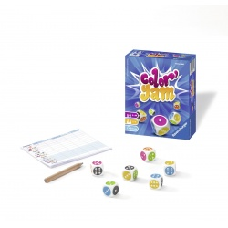 Ravensburger  Color Jam Dobbelspel  2-5 spelers 8+