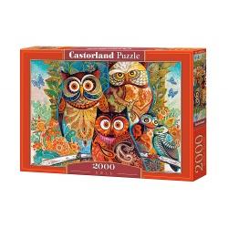 Owls, 2000stukjes Castorland