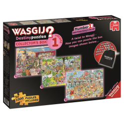 Wasgij 3 Destiny collectors box 3x1000 stukjes