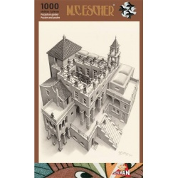 Klimmen en Dalen, M.C. Escher 1000stukjes