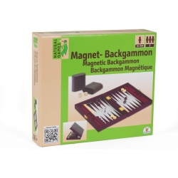 Backgammon in koffer magnetisch