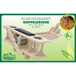 Solar Dubbel dekker hout bouw