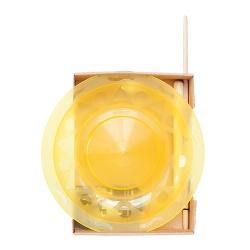 Henry`s Jongleer bord Geel incl stokje