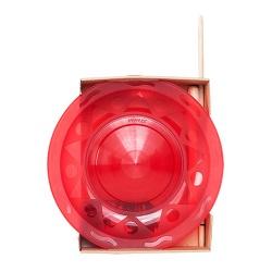 Henry`s Jongleer bord Rood incl stokje