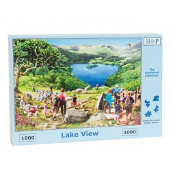 Lake View, House of Puzzles 1000stukjes