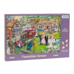 Twenties Green, House of Puzzles 1000stukjes