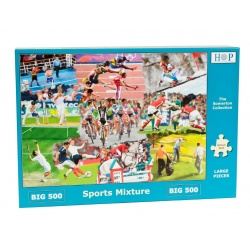 Sports Mixture, The House of Puzzles 500xxlstukjes