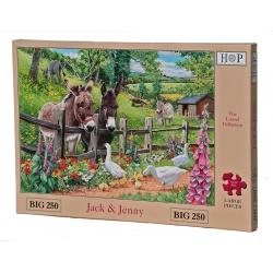 Jack & Jenny, Hop Puzzels 250st XL stukken
