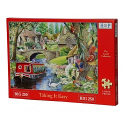 Taking It Easy, Hop Puzzels 250st XL stukken