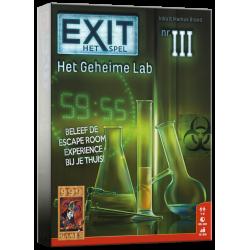 EXIT: Het Geheime Lab Bordspel