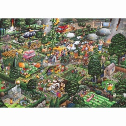 Gibsons I Love Gardening by Mike Jupp