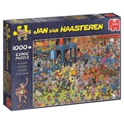 Roller disco Jan van Haasteren