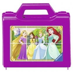 Ravensburger 6 stukjes blokpuzzel in koffer Princess