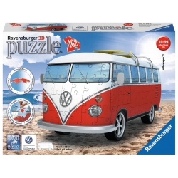 VW Bus (T1 Bully) 3D ravensburger 162 stukjes