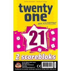 Twenty One (21): Scoreblok