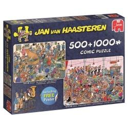 Jan van Haasteren Feestje! 2 in 1 1000+500stukjes