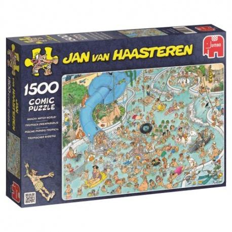 Jan van Haasteren Subtropisch Zwemparadijs 1500stukjes