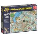 Zwemparadijs Jan van Haasteren 1500stukjes