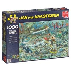 Pret onder water Jan van Haasteren 1000stukjes