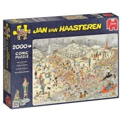Jan van Haasteren Nieuwjaarsduik 2000 stukjes