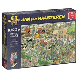 Boerderij bezoek  Jan van Haasteren 1000stukjes