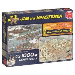 Jan van Haasteren Winterfun 2 in 1 1000stukjes