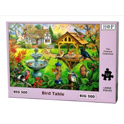 Bird Table, Hop Puzzels 500 XL stukken