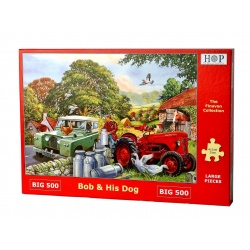 Bob and his Dog, Hop Puzzels 500 XL stukken