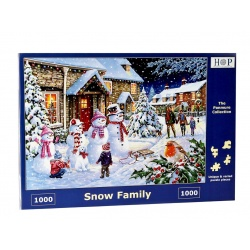 Snow Family, HOP puzzles 1000stukjes