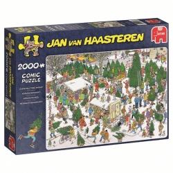 Jan van Haasteren Kerstbomenmarkt 2000 stukjes