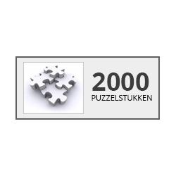 2000stukjes Castorland - Puzzel & Spel